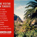 10 Lugares que visitar en Tenerife