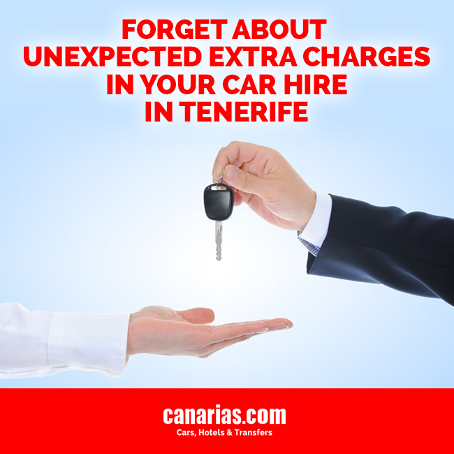 Car Hire in Tenerife without hidden extra charges