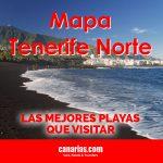 Mapa Tenerife Norte: las mejores playas que visitar