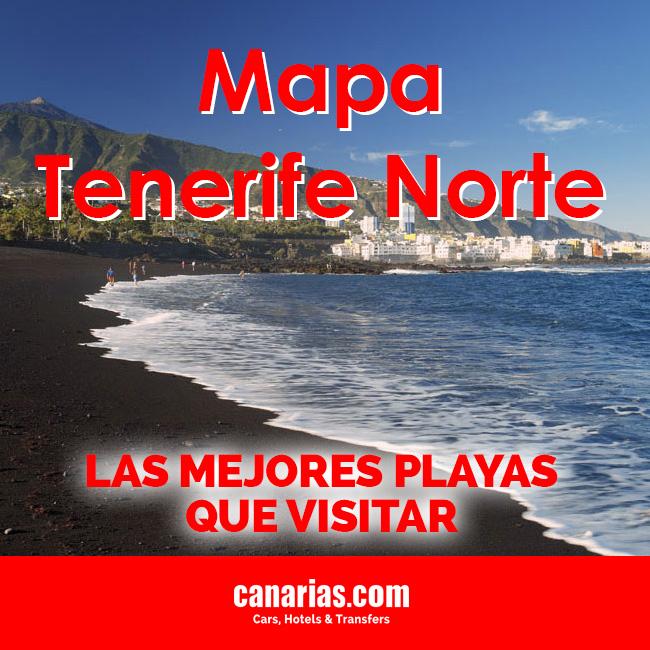 Mapa Tenerife Norte