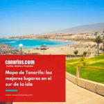 Tenerife: Mapa con los principales lugares de interés