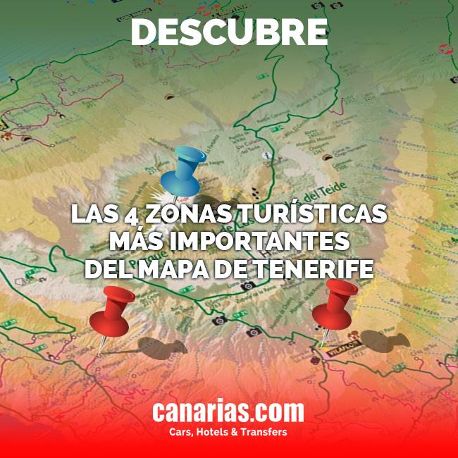 Mapa de Tenerife
