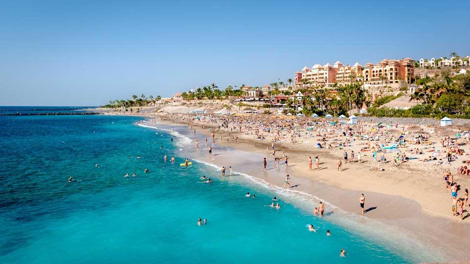 Playa del Duque,Costa Adeje. Tenerife