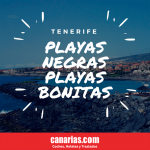 Tenerife playas negras y playas bonitas Tenerife Sur