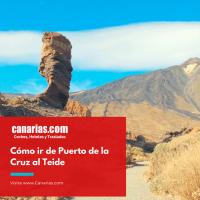 Subir al Teide, Tenerife desde Puerto de la Cruz