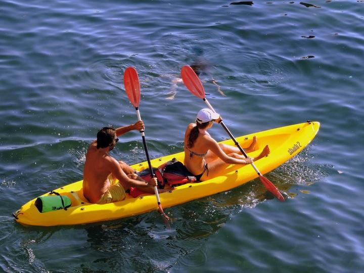 Kayaking en Tenerife