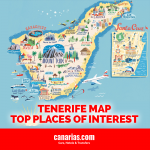 Tenerife Map: Top places of interest